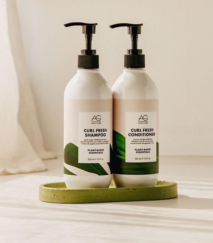 AG Curl-Fresh shampoo-conditioner
