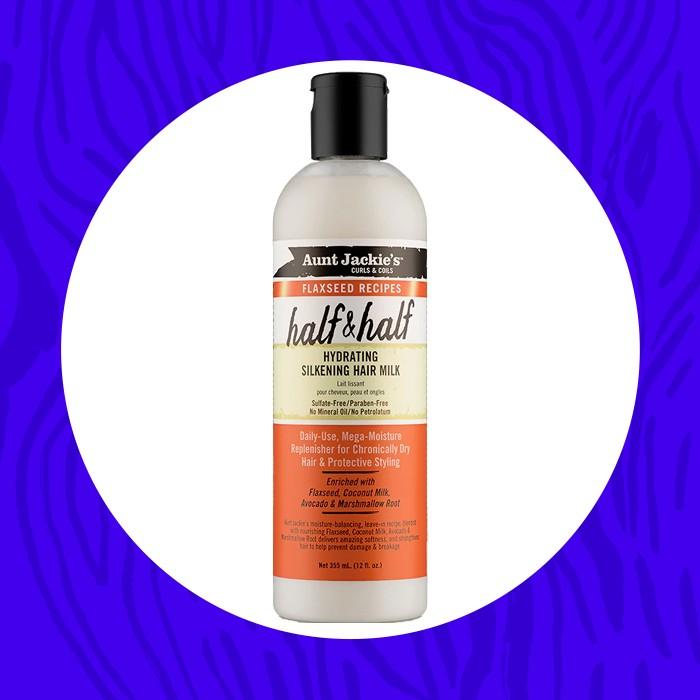 Aunt Jackie's Half & Half Hydrating Silkening Hair Milk