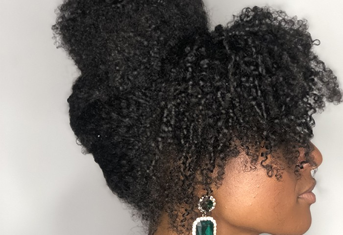 3 Holiday Updo's for Curly Hair That are Quick & Easy
