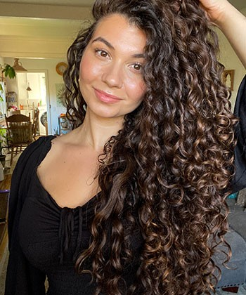 From Heat Damaged to Long, Healthy Curls: Ashley's Curly Hair Journey