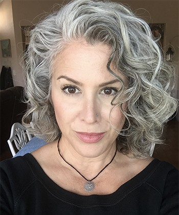 The Advice You Need to Embrace and Celebrate Gray Curls