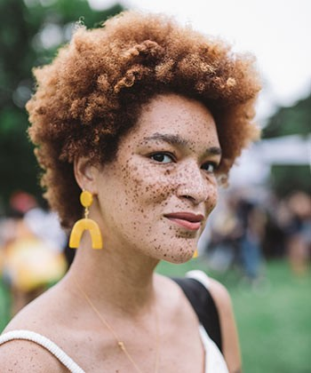 30 of the Best Looks from Curlfest 2018