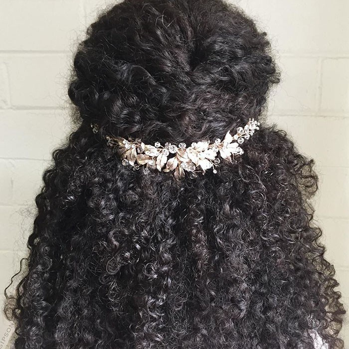 14 Bridal Hairstyles For Natural Hair Naturallycurly Com