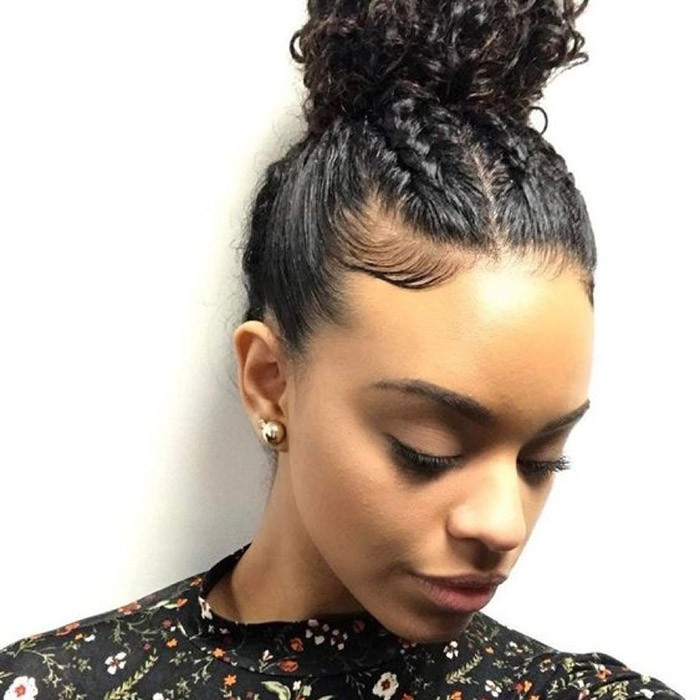 Check Out Our 24 Easy To Do Updos Perfect For Any Occasion Naturallycurly Com
