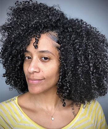 Texture Tales: Ginelle Shares her Natural Hair Journey from Relaxed to Natural