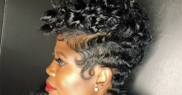 How To Rock Your Pixie Cut At An Awkward Length Naturallycurly Com