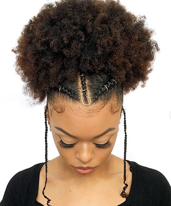 How to Style Natural Hair in Seven Minutes or Less
