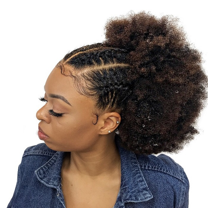 Fine How To Style Natural Hair In Seven Minutes Or Less Natural Hairstyles Runnerswayorg
