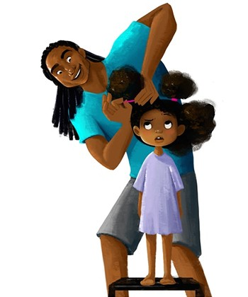 The First Animated Film About Natural Hair  You Must See: Hair Love