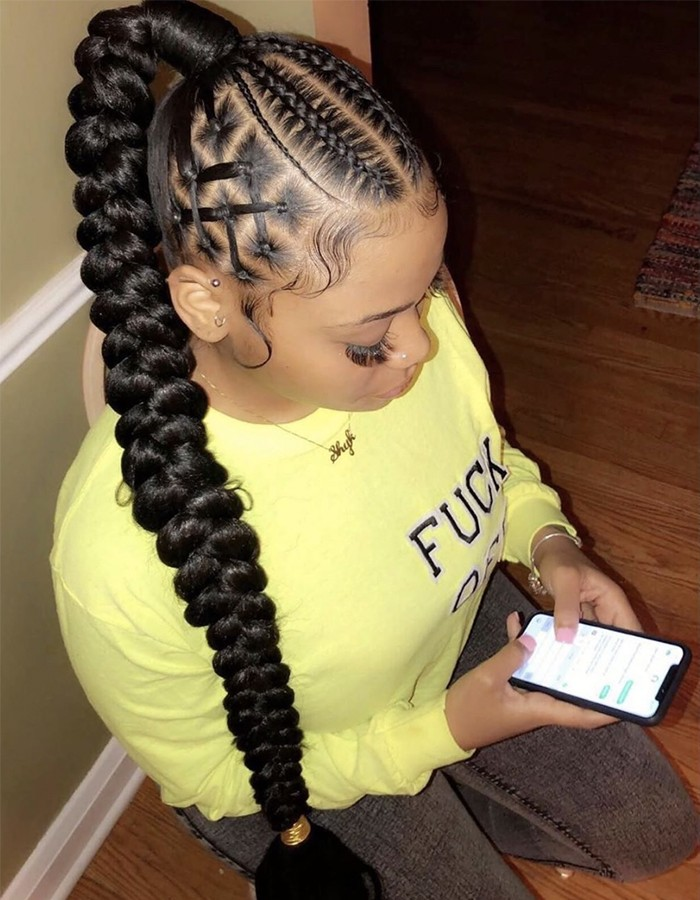 braided ponytail 700
