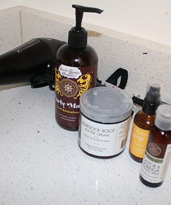 These are my Top Shelf Products for My 3b/3c Curls