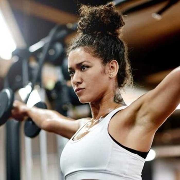 curly-workout-bun