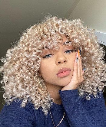 Texture Tales: Glori Shares Her Curly Hair Journey and Tips for Healthy Blonde Curls