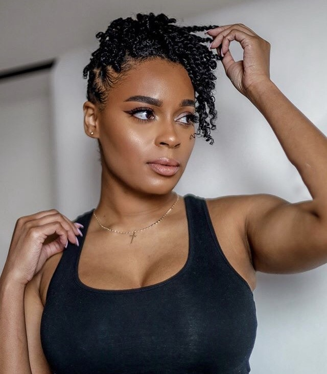 20 Low Maintenance Twisted Hairstyles For Natural Hair Naturallycurly Com