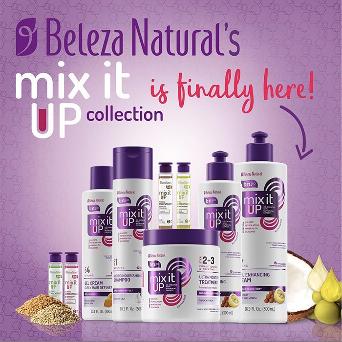 beleza natural mix it up