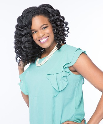 This CEO Created a Natural Hair Line, Strands of Faith, To Empower Women with Coily Hair