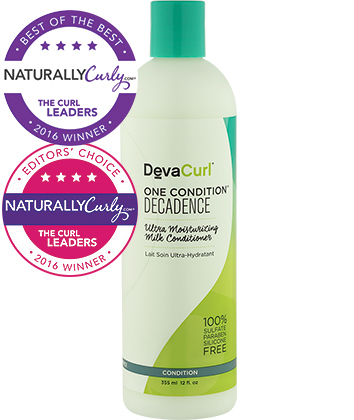 Favorite Daily Conditioner - DevaCurl One Condition Decadence Ultra Moisturizing Milk Conditioner