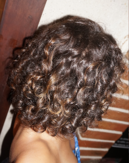 Natural Curls <3 2c 3a 3b Out Wash and Go #curls Lovingcurl #curltalk