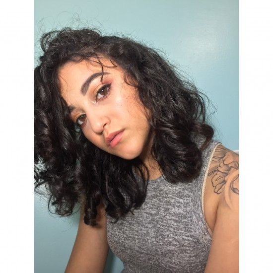 Naturally curly hair 3a Out Wash and Go