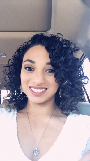 My natural curls 3a Updo