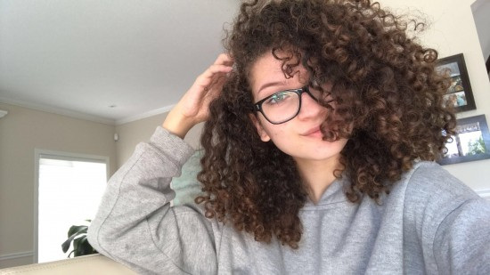 Curly Hair Routine 3c Out curly  hair  routine