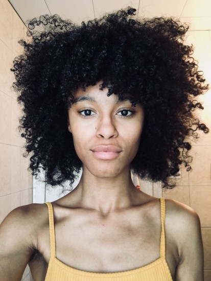 My natural curls. :) 3c Out Wash and Go