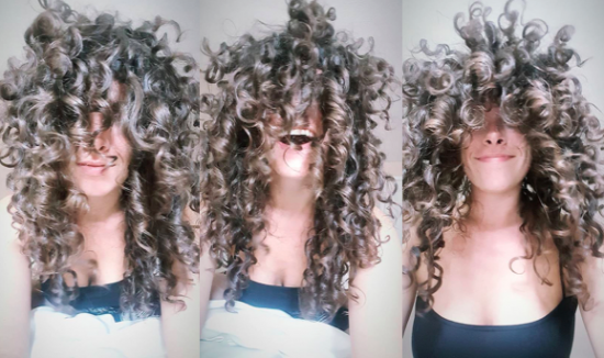 May your life be as messy as your hair... Or mine! 2b 3a 3b Wash and Go Out DevaCurl