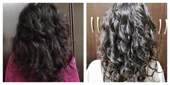 DevaCurl Masks on Transitioning Hair 2b 2c 3a Out Wash and Go #devacurl#curlyhair#transitioninghair#hairmasks#meltintomoisture#deepsearepair#cgm