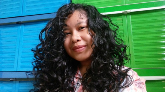 4th Day Hair after refreshing routine 2a 2b 2c Out Braid & Curl wavy  curly  curls  leave-in  day 4