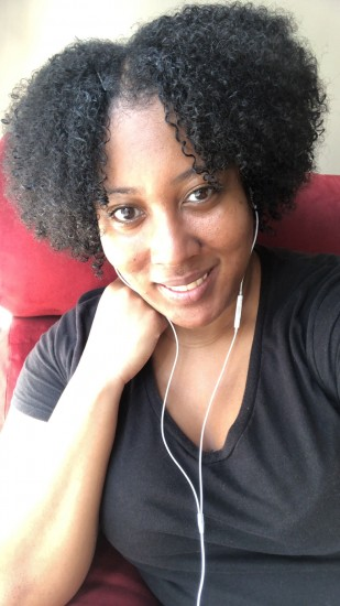 Day 4 wash and go (did a little refreshing) 4b Out Wash and Go