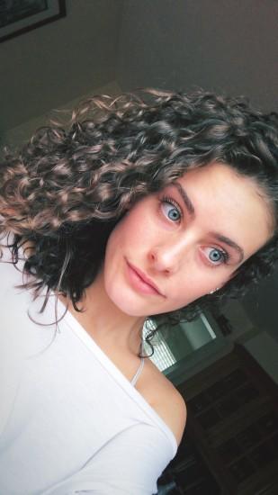Every day 3B curls 2a 2b 3b Locs Devacurl