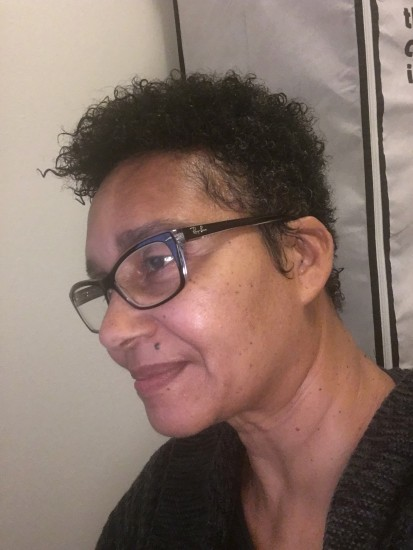 "Big Chop 6-Month Anniversary- Went for a fade. Gave up 5"" stretched on the sides and back! 4a Out"