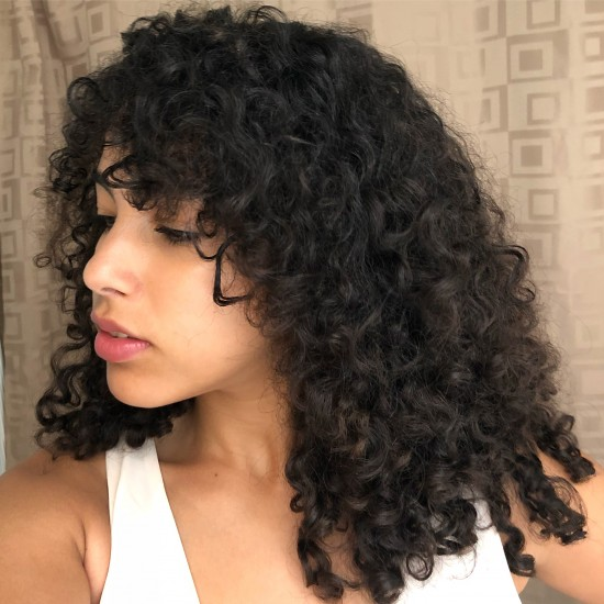 Wash & Go with DevaCurl and OGX Products 3a 3b Out 3a  3b  curly hair  mixed hair  natural hair  devacurl