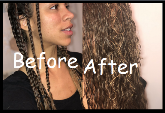 Braid Out 3a 3b 3c Braid Out Out curls  braidouts  braids  type 3a curls  type 3b curls  type 3c curls  blonde highlights  highlighted curls  waves