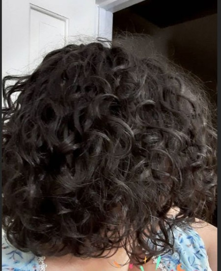 First week in the curly girl method! 2c 3a Out Wash and Go