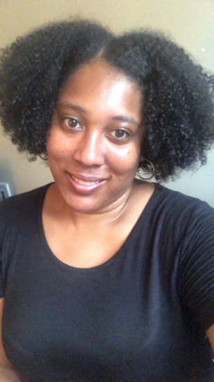 Really loving this wash and go (day 2 hair) 4a 4b Out Wash and Go