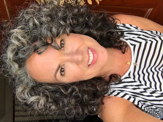LETTING THE SILVER SHINE THRU 3a Out Wash and Go Curly Hair  3a Curls  Silver Curls  Its okay to be gray  Gray and Proud  Silver and Sassy