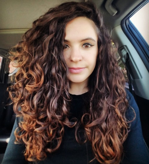 CurlsCurlsCurls 2c 3a Out Long Curly Hair @romy_addams