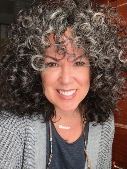 Silver curls are the best. 3a Out Wash and Go Curly Hair  3a Curls  Silver Curls  Its okay to be gray  Gray and Proud  Silver and Sassy  Time and Patience
