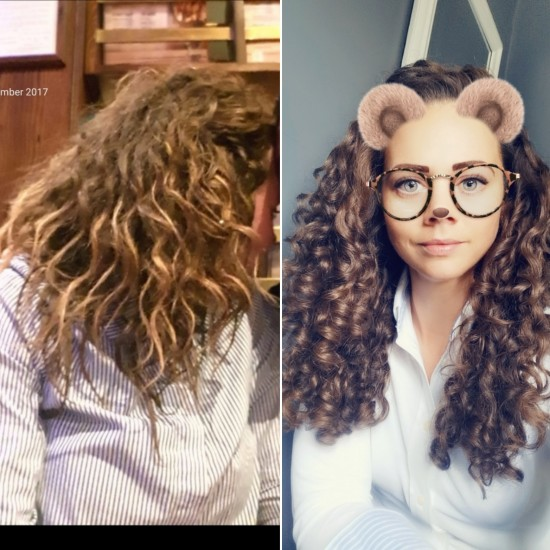Never Give Up- 3 years CG 3a 3b Out Long Curly Hair