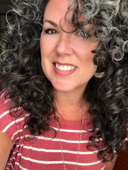 50+ and the CGM 3a Out Wash and Go Curly Hair  3a Curls  Silver Curls  Its okay to be gray  Gray and Proud  Silver and Sassy  Time and Patience