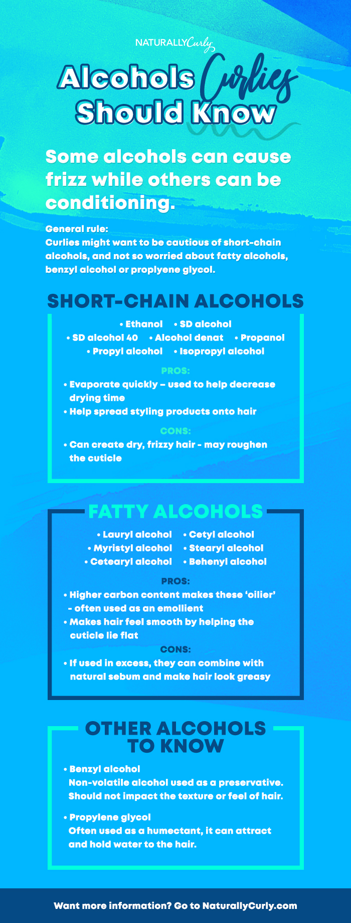 Alcohols and Your Hair, What You Should Know | NaturallyCurly com