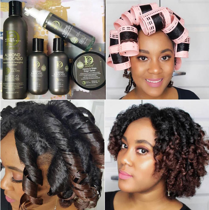 12 Tips For A Perfect Roller Set On Natural Hair Naturallycurly Com