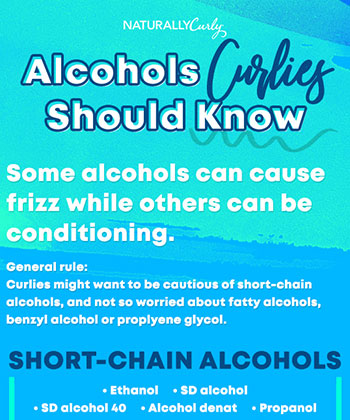 Alcohols and Your Hair, What You Should Know