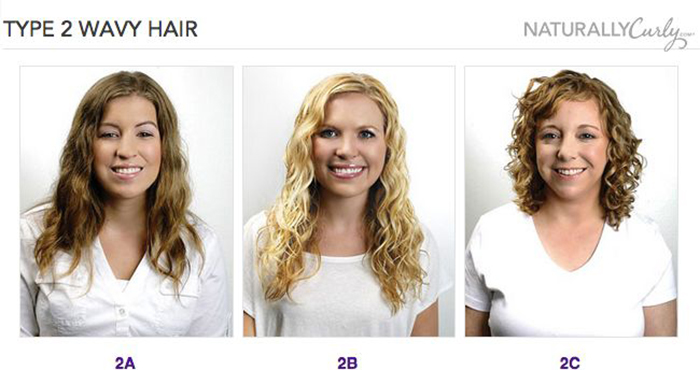 type 2 wavy hair