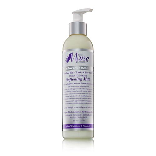 The Mane Choice Heavenly Halo Herbal Hair Tonic & Soy Milk Deep Hydration Softening Milk