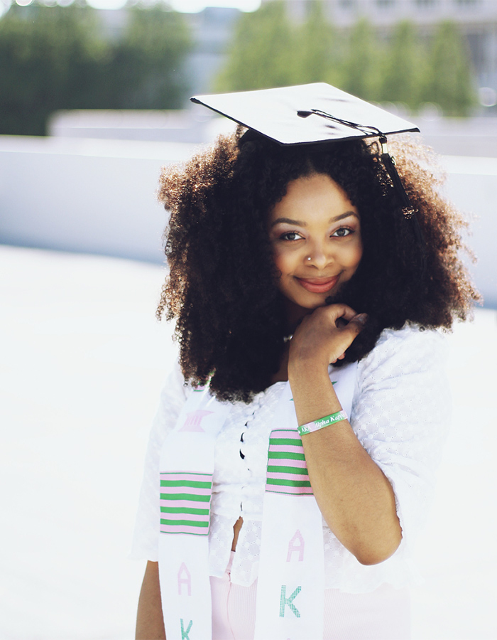 How To Style Curly Hair For Graduation Naturallycurly Com