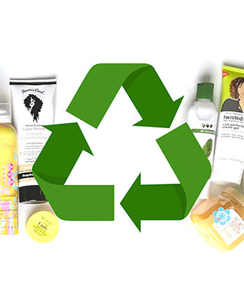 How to Recycle Your Hair Product Bottles