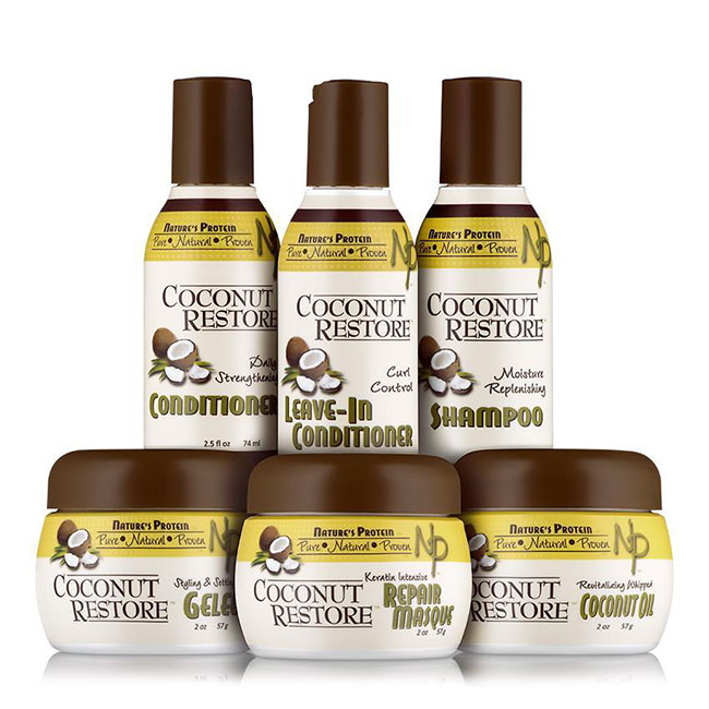 Coconut Restore Try Me Kit (6 pc.) SHOP NaturallyCurly