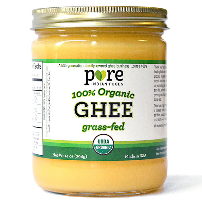 tub of ghee butter